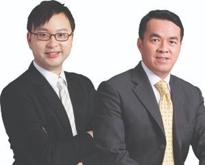 鍾一匡律師 (Henry Chung) 謝連豐律師(Charles Tse)葉謝鄧律師行合伙人